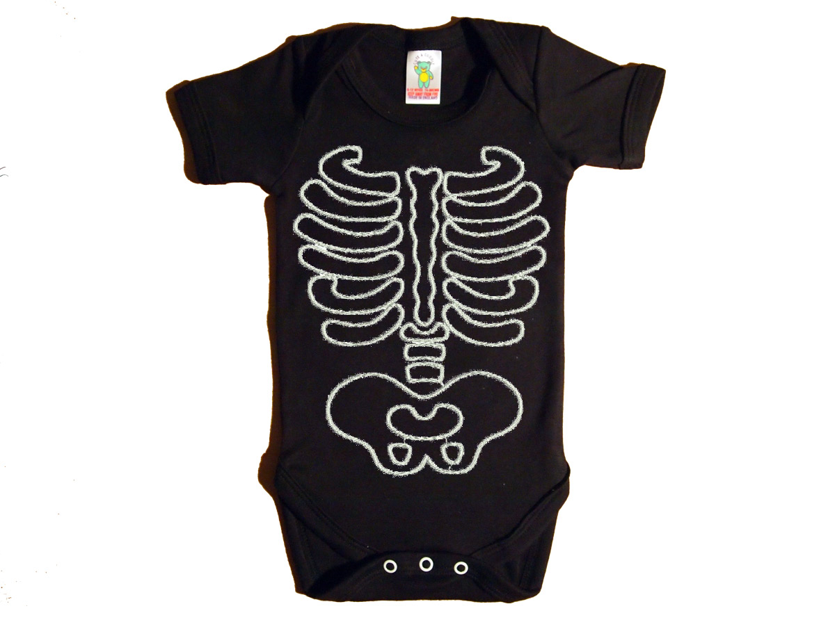 Body de huesitos para bebe