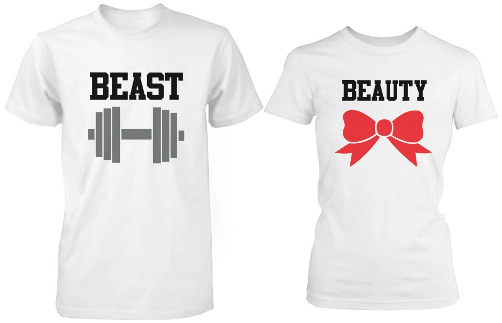 Camisetas para novios para que demuestren su amor a todos for Best couple t shirt design