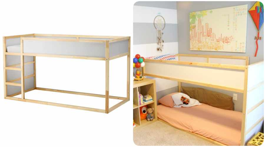 Camas montessori gu a ideas y beneficios for Camas de ninos ikea