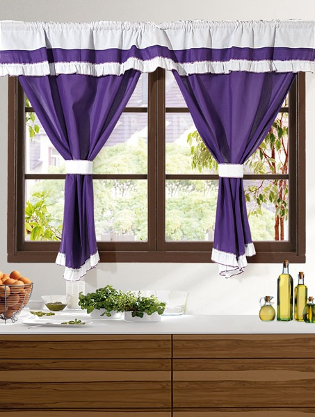 Cortinas para cocina stunning cortinas crochet with for Cortinas de cocina originales