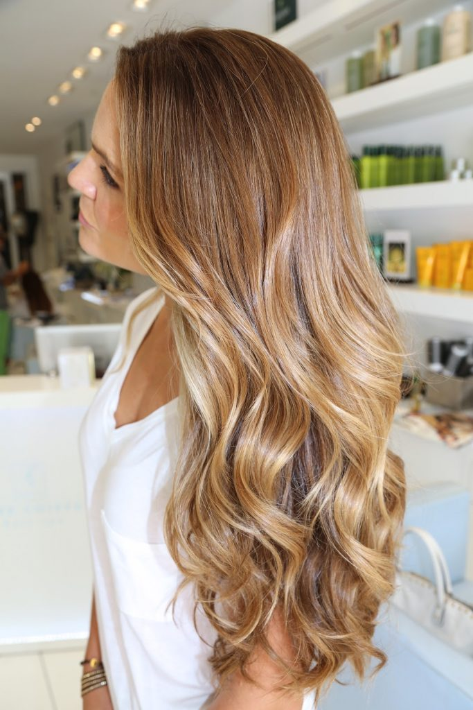 ombre hair rubio