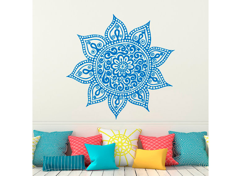 mandala decoración pared