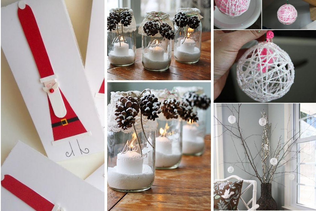 Ideas para decoracion de navidad facil - Manualidades faciles decoracion ...