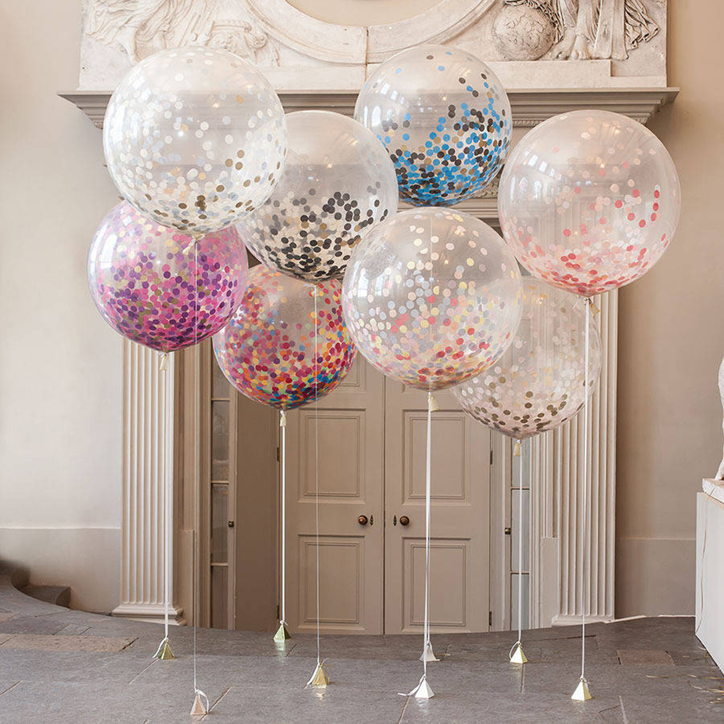 Decoraci n con globos 57 ideas increibles para fiestas y for Arreglos de salon con globos