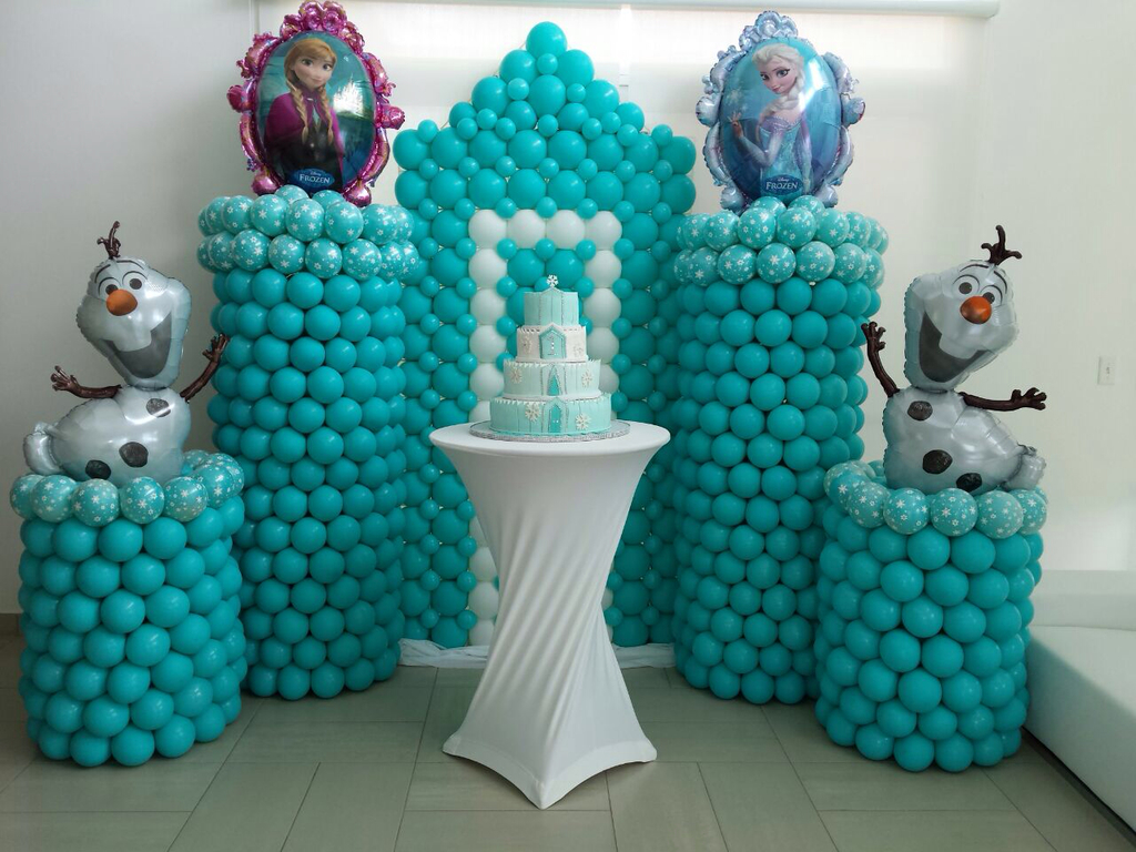 Decoraci n con globos 57 ideas increibles para fiestas y for Decoracion con globos