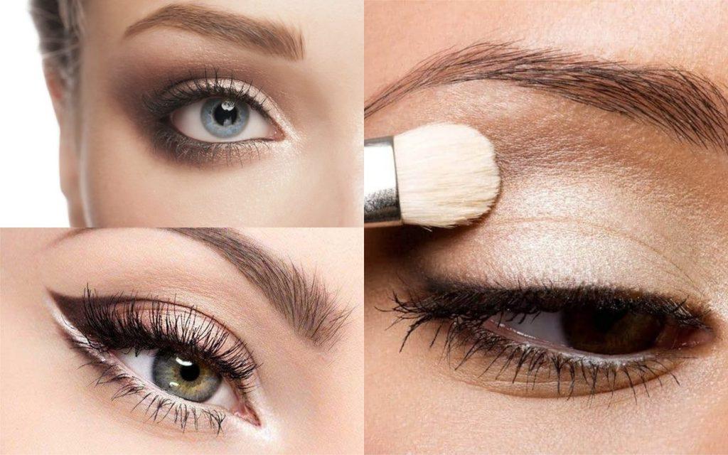 Maquillaje de ojos de día looks