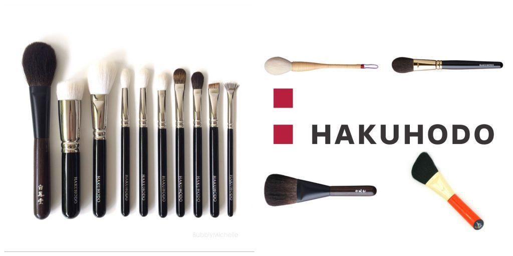 brochas para maquillaje de hakuhodo