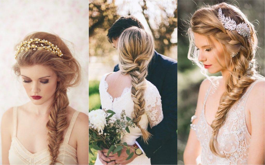 peinados para bodas trenza romantica