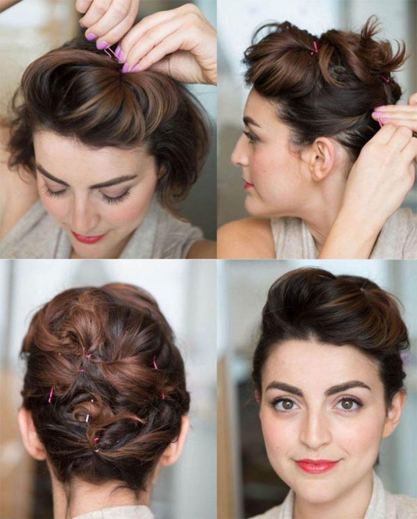 65 Peinados Recogidos Faciles Hermosos Y Elegantes Paso A Paso