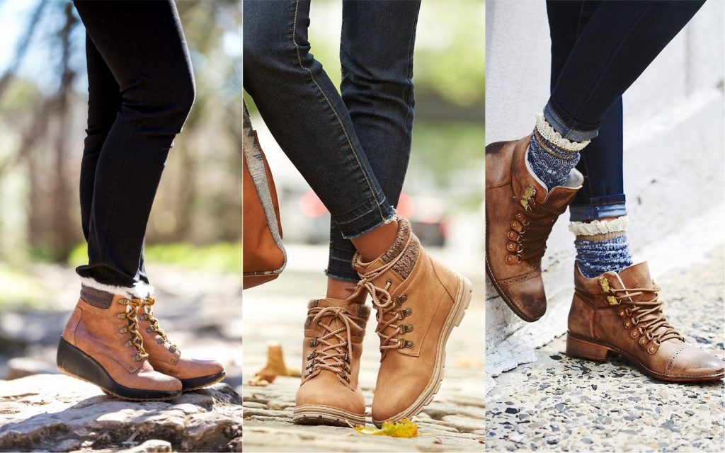 zapatos de mujer Hiking boots