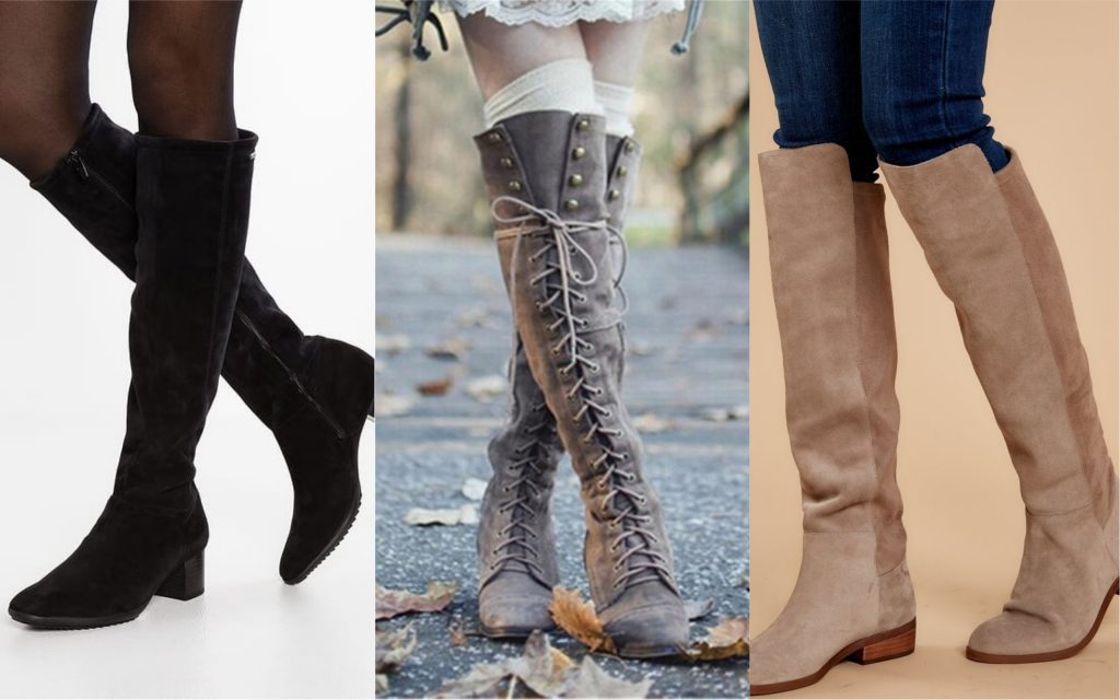 zapatos de mujer Knee High Boots