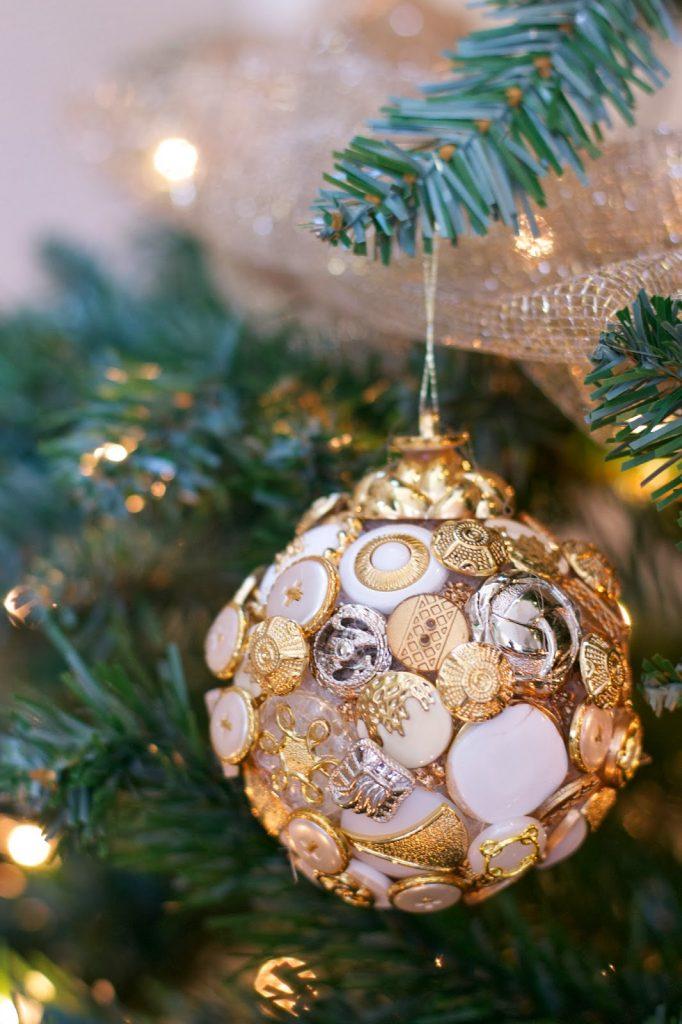 arreglos navideños de bolas decorativas 2