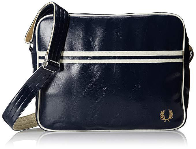Bandolera lisa  Classic Blue Fred Perry