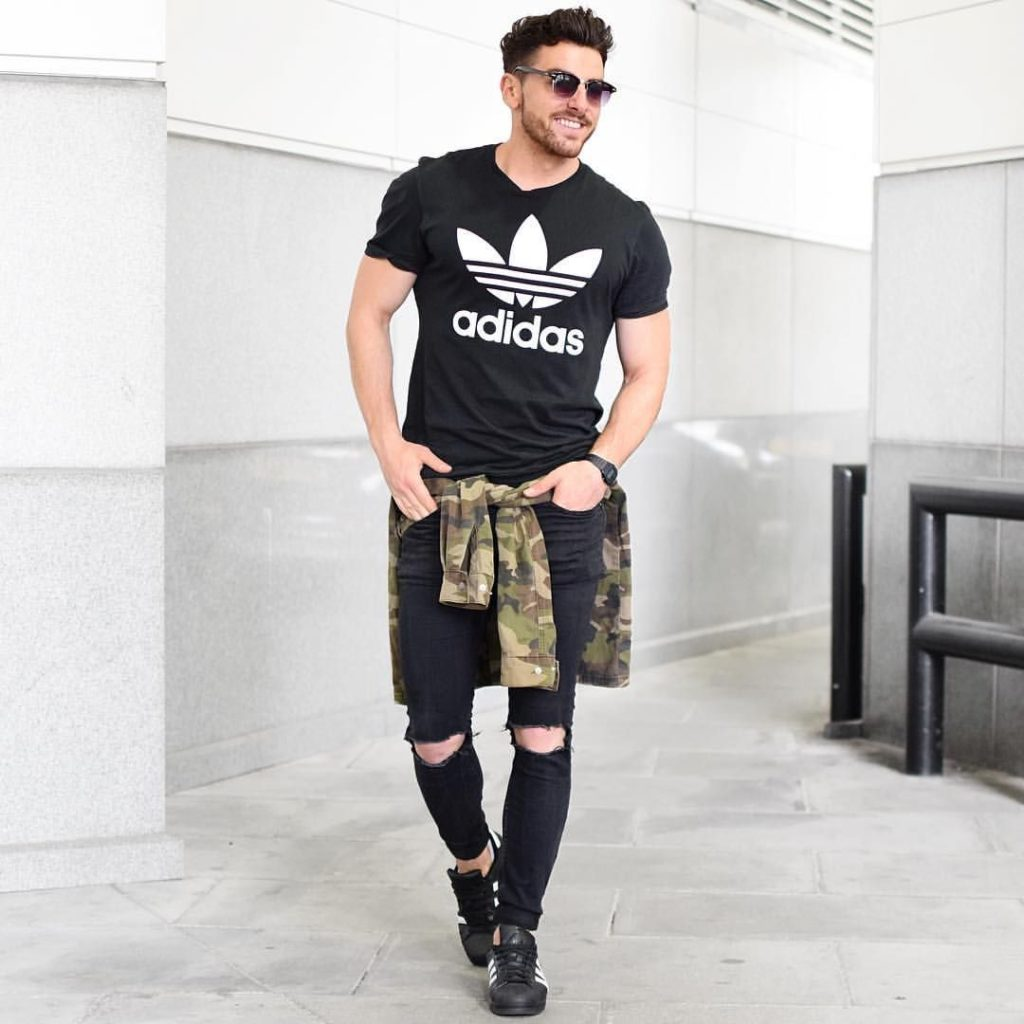 Outfit deportivo para hombres
