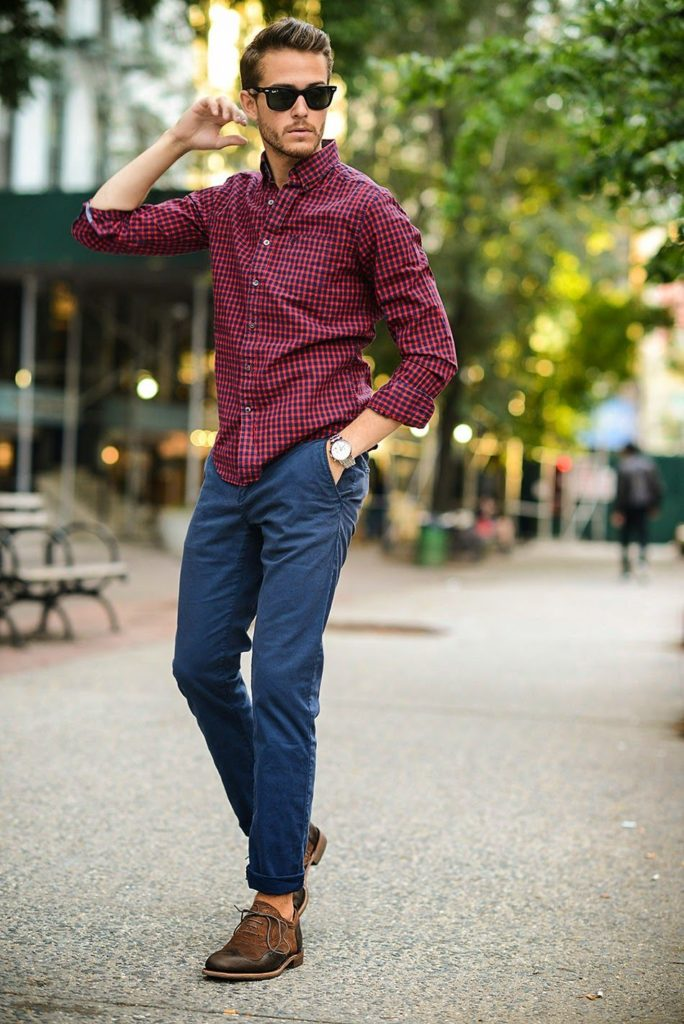 Outfit casual para hombres