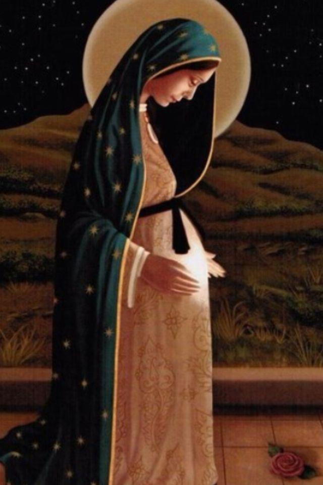 oracion a la virgen de la dulce espera virgen maria