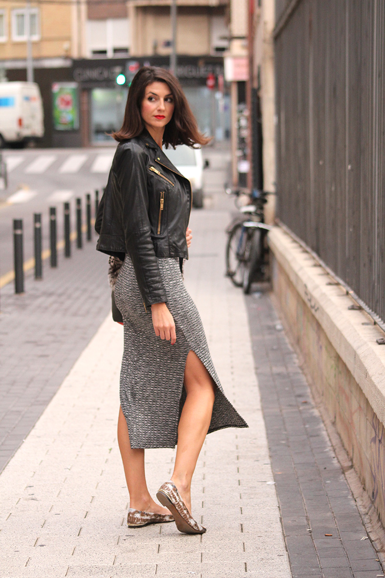 Outfit Con Vestido Gris Casual Spa On The Go