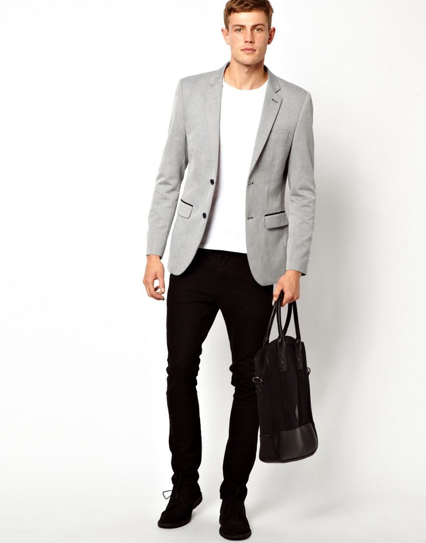 outfit semi formal para hombres