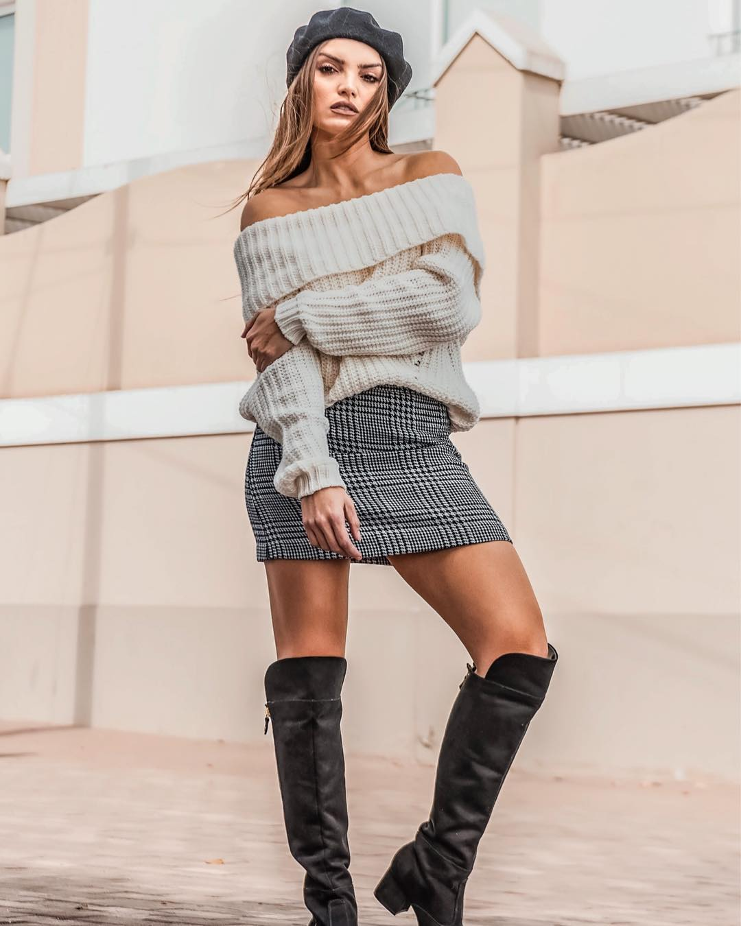 Outfits botas largas