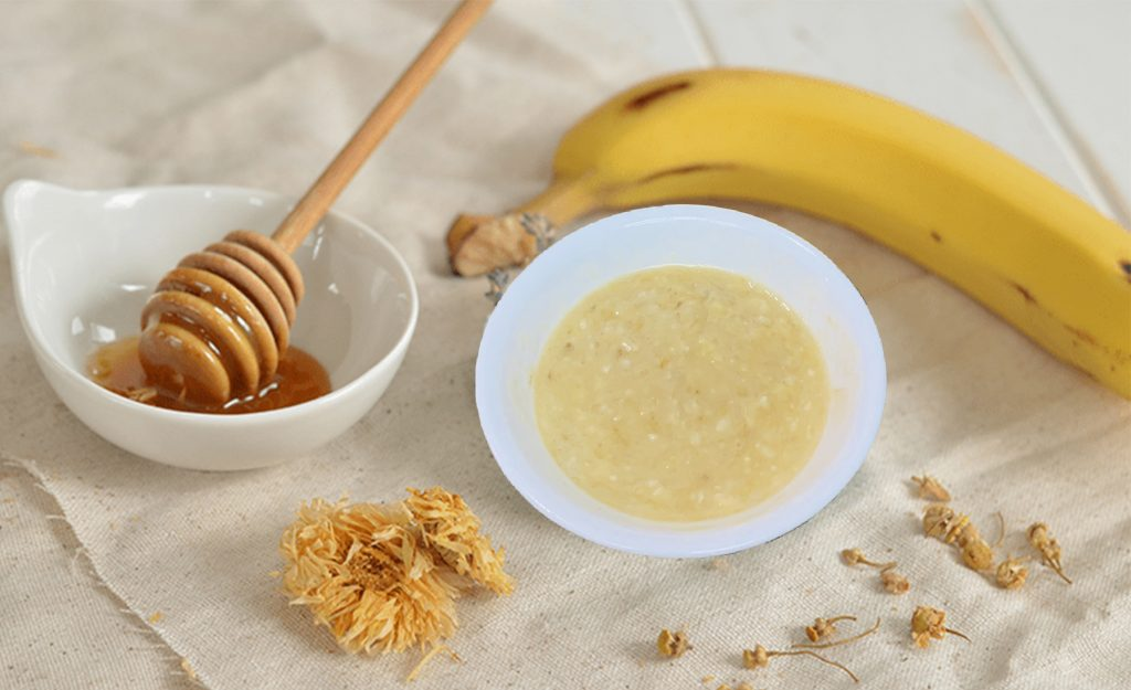recetas para la cara de banana