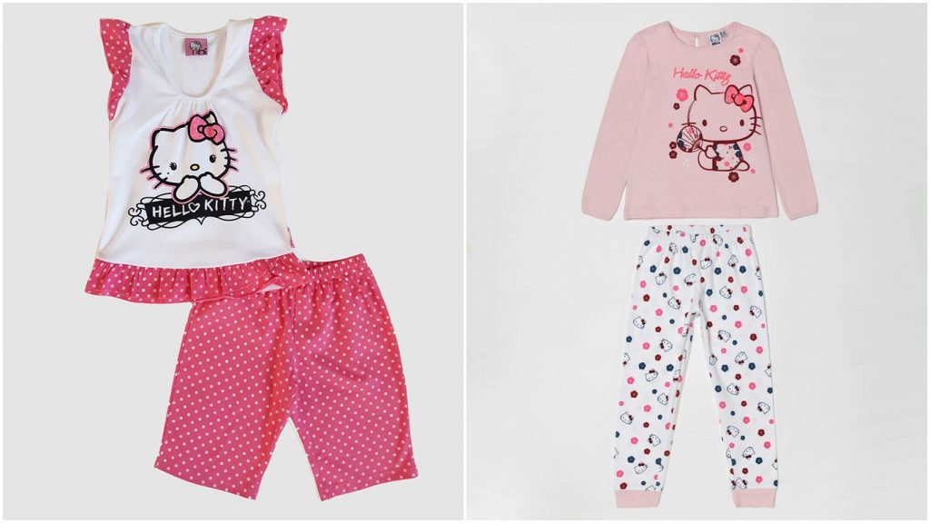Hello Kitty Pijamas